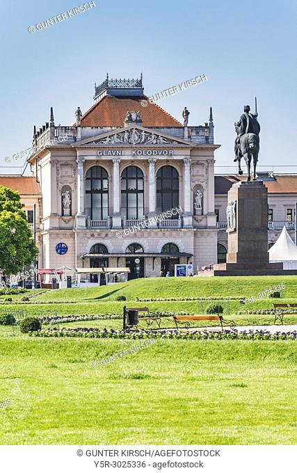 The central railway station Zagreb is located in the center of the city at King Tomislav Square. The central station was built by the architect Ferenc Pfaff in...