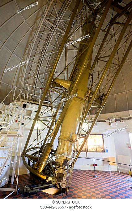 Interiors of an observatory, Royal Observatory, Greenwich, London, England