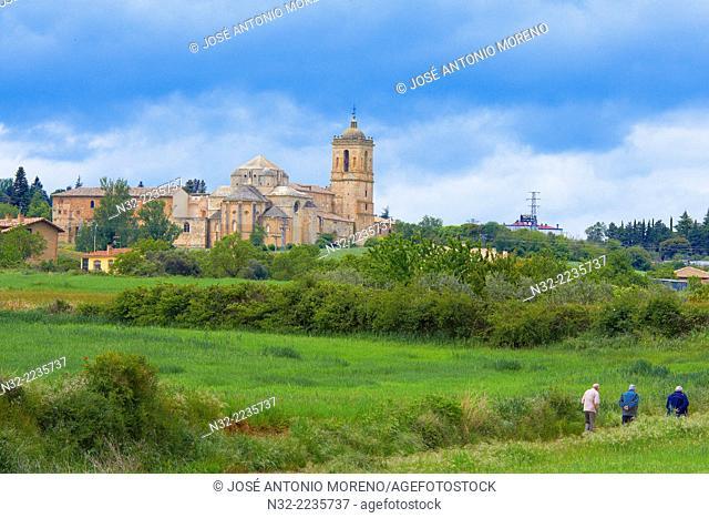 Irache Monastery, Camino de Santiago, Navarra, Ayegui, Navarre, Way of St James, Spain