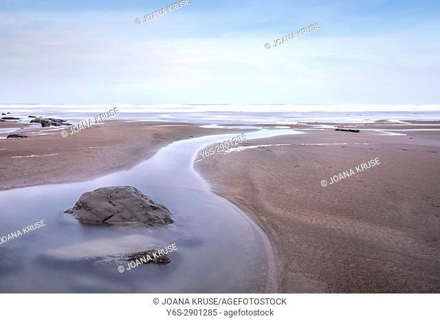 Welcombe Mouth Beach, North Devon, England, UK