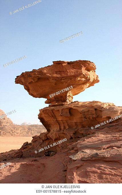 Stone in Wadi Rum