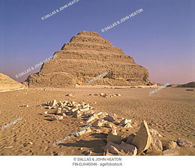 Egypt, Cairo, Saqqara, The Step Pyramid