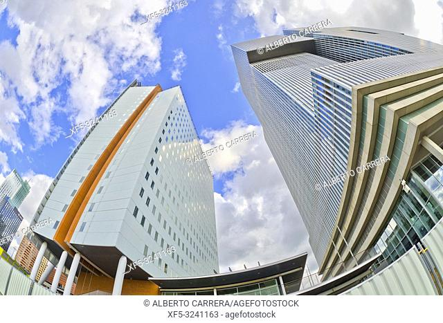 Modern Architecture, Rotterdam, Holland, Netherlands, Europe