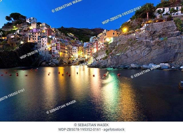 Riomaggiore, Cinque Terre, Province of La Spezia, Liguria, Italy, Europe
