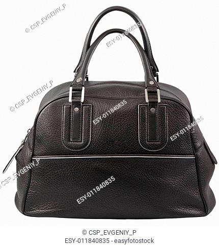Black bag with handles