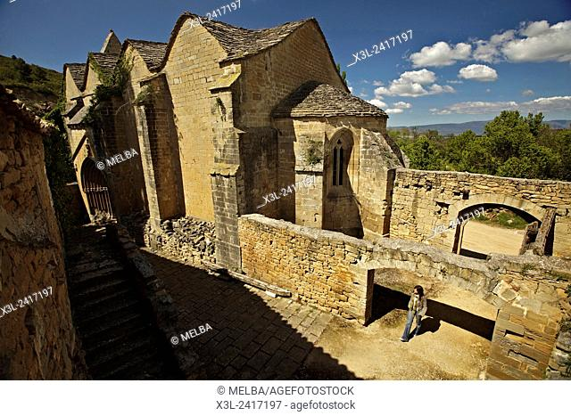 Saint Zoilo hermitage. Caseda. Navarre. Spain