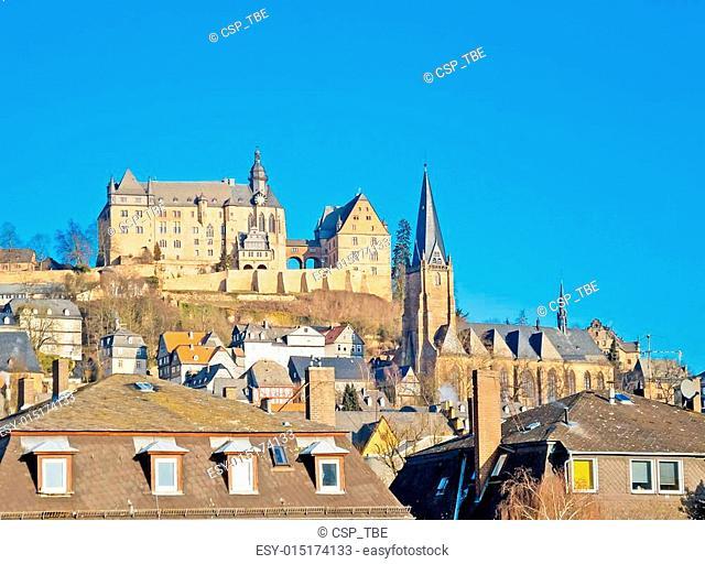Landmarks of Marburg (Germany)