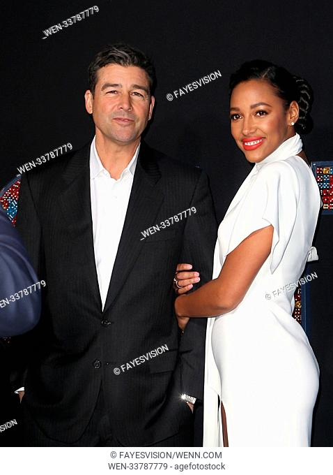 Premiere of New Line Cinema and Warner Bros. Pictures' 'Game Night' Featuring: Kyle Chandler, Kylie Bunbury Where: Hollywood, California