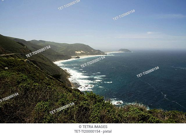 View of coastline