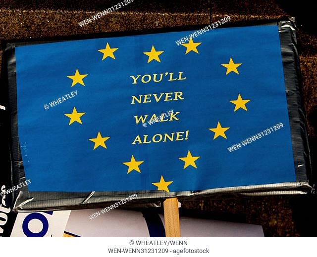 Unite for Europe National march to Parliament., timed to coincide with the UK Government's stated intention to trigger Article 50 by the end of March 2017