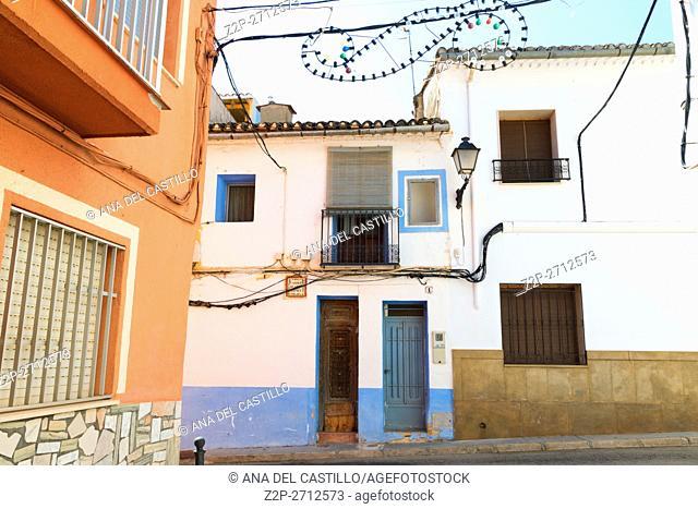 Rafol de Salem is a small village in Albaida mountains Valencian community Spain