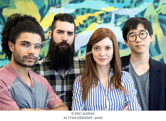 Group of creative colleagues, portrait