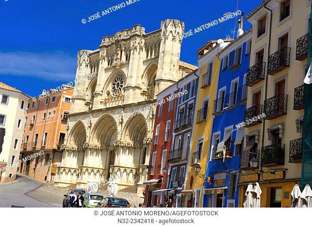 Cathedral, Cuenca, UNESCO World Heritage Site. Castilla-La Mancha. Spain