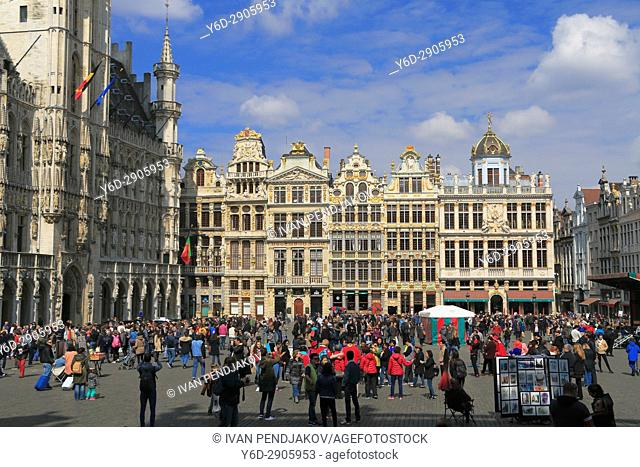 The Grand Place, Brussels, Belgium