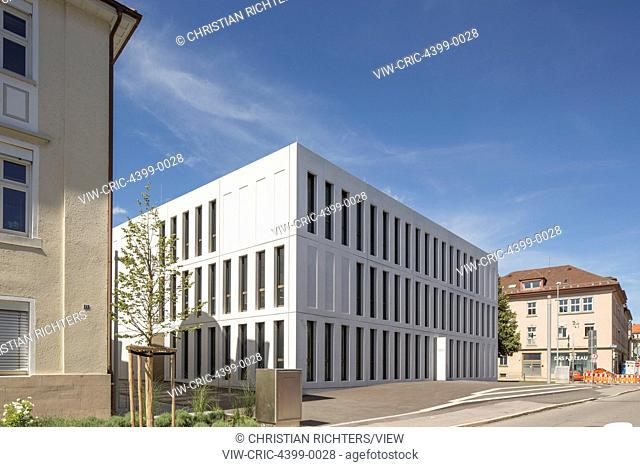 The new expansion of the Finance Offices Biberach allowed a better consolidation of the formerly spread-out offfices. The office