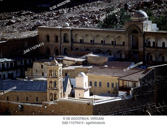 Saint Catherine's Monastery, 6th century (UNESCO World Heritage List, 2002), Sinai Peninsula, Egypt