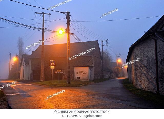 hamlet of the commune of Senantes, Eure-et-Loir department, Centre-Val-de-Loire region, France, Europe