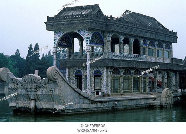 Palace in a lake, Summer Palace, Beijing, China