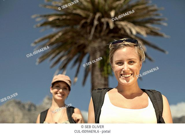 Two happy young women, Cape Town, South Africa