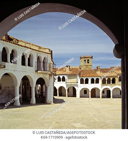 Garrovillas de Alconétar is a municipality located in the province of Cáceres, Extremadura, Spain