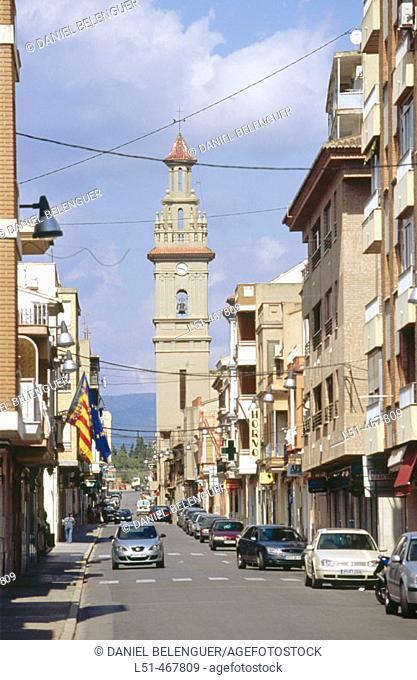 Puebla de Vallbona. Valencia province. Spain