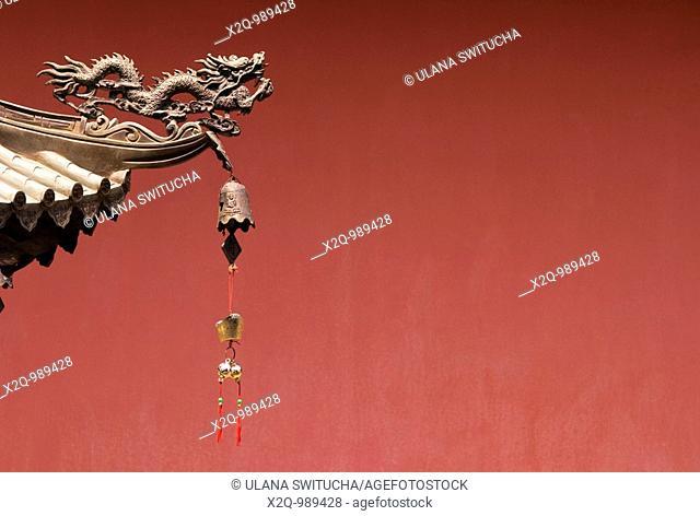 Thian Hock Keng Hokkien Chinese temple in chinatown Singapore
