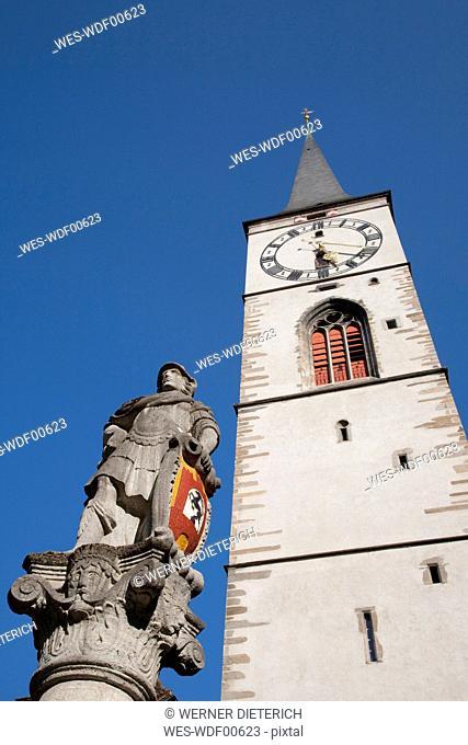 Switzerland, Grisons, Chur, St. Martins church