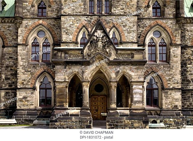 The East Block Canadian Parliament Buildings, Ottawa, Ontario, Canada