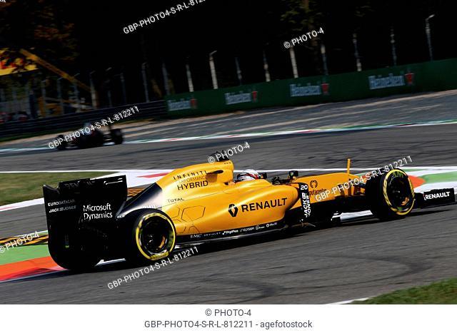 02.09.2016 - Free Practice 1, Kevin Magnussen (DEN) Renault Sport F1 Team RS16