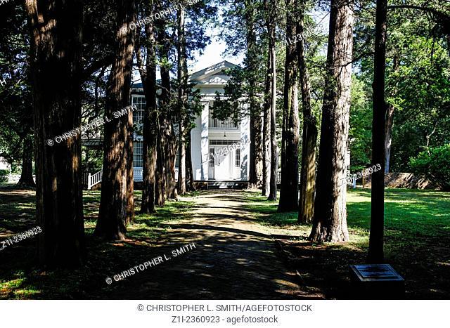 Rowan Oak House. Home of William Faulkner in Oxford Mississippi