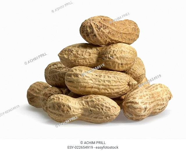 pile of peanuts