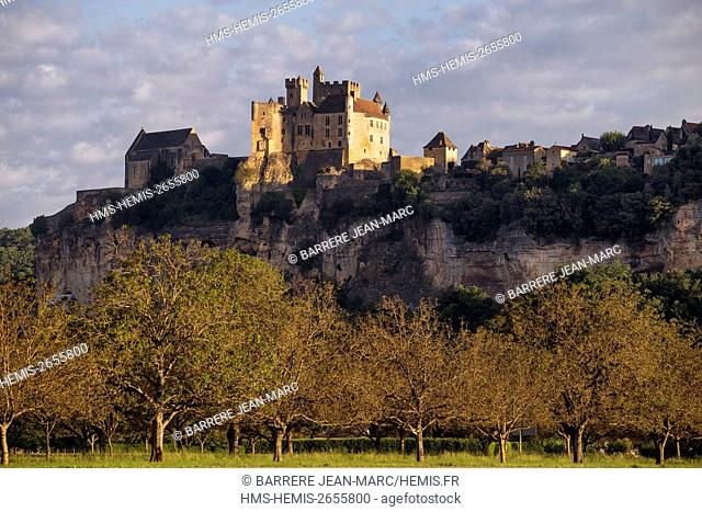 France, Dordogne, Perigord Noir, Dordogne Valley, Beynac et Cazenac, labelled Les Plus Beaux Villages de France (The Most Beautiful Villages of France)