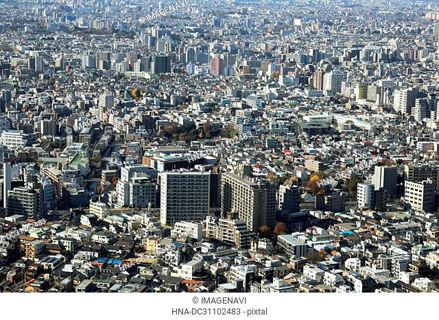Skyscrapers at Shinjuku, Tokyo, Japan