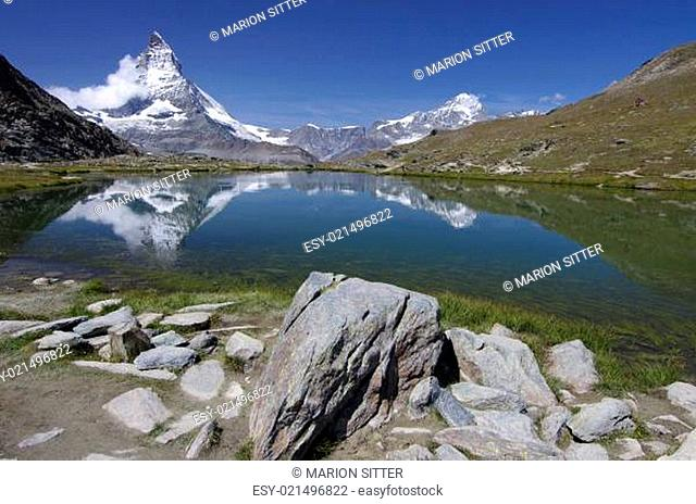Riffelsee - Matterhorn