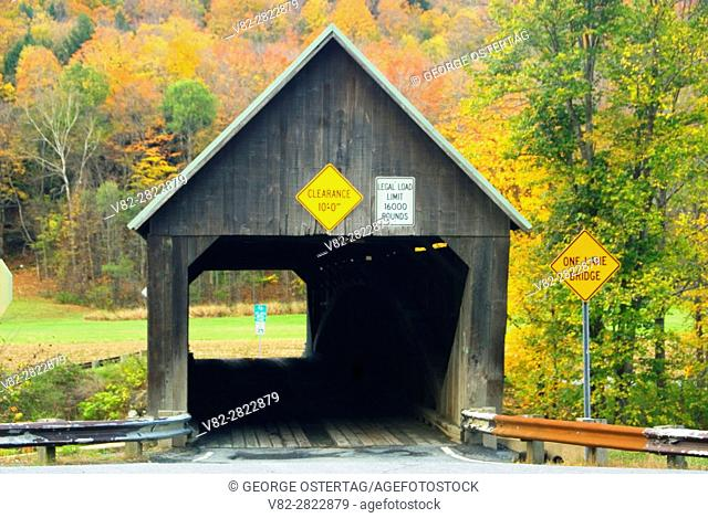 Lincoln Covered Bridge, Windsor County, Vermont
