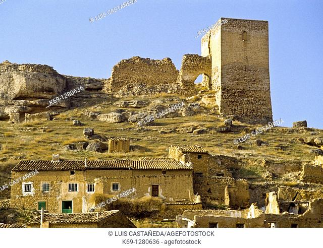 The Castle Ruins  Somaen  Soria Spain