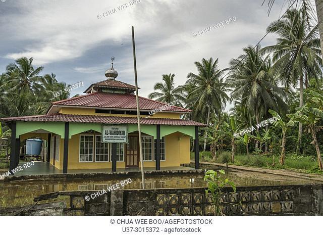 Mosque at Kampung Sei Kakap, Pontianak, West Kalimantan, Indonesia
