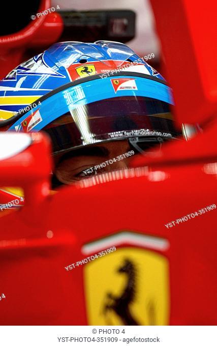 Fernando Alonso, Friday Practice, Formula One, German Grand Prix, Nurburgring, Germany