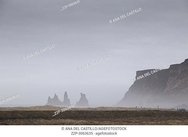 The Rock Troll Toes from Vik Iceland