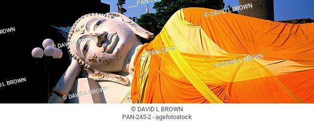 Reclining Buddha, Ayudhaya, Thailand