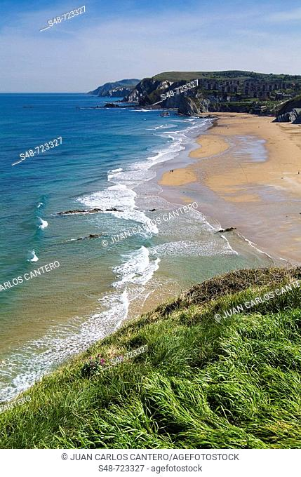 Beach, Sopelana. Biscay, Euskadi, Spain