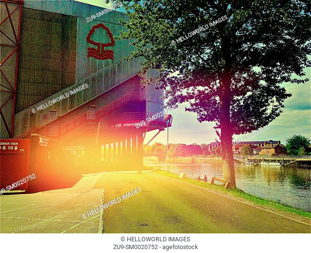 Nottingham Forest Football Club, Nottingham, Nottinghamshire, east Midlands, England