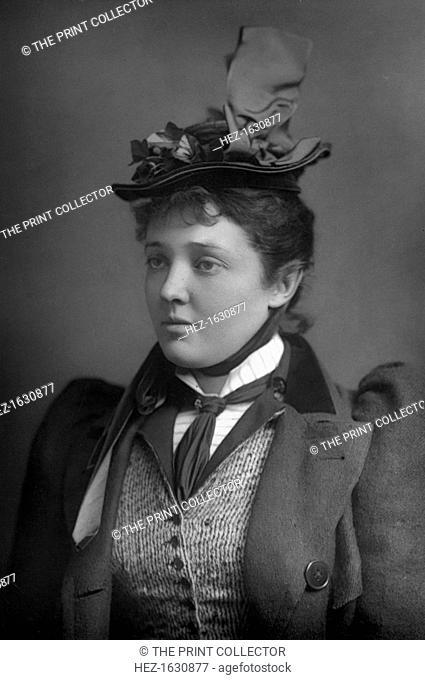 Marion Lea, 1893. From The Cabinet Portrait Gallery, fourth series, Cassell and Company Limited (London, Paris and Melbourne, 1893)