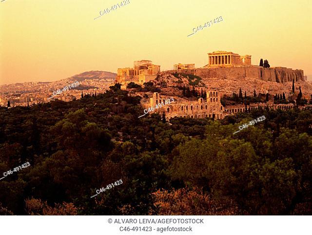 Acropolis, Athens. Attica, Greece