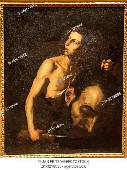 'David and Goliath' by Jusepe de Ribera