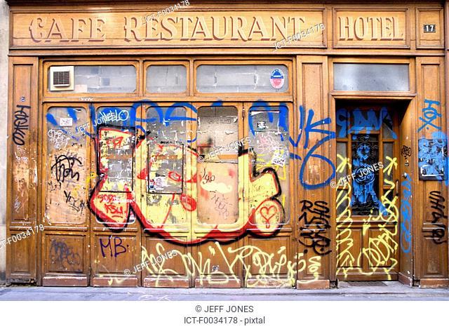 France, Ile de France, le marais, bar