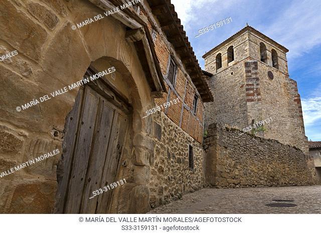 Our Castle Lady Church in Calatañazor. Soria. Castilla León. Spain. Europe