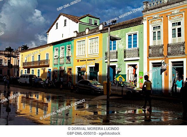 Sé Square, Salvador, Bahia, Brazil