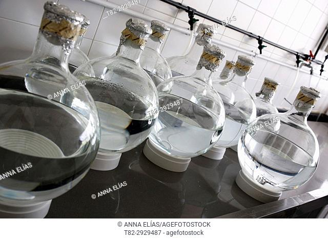 Marine research and quality control laboratory. Huelva, Andalusia, Spain