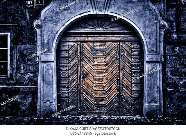 Large Wooden Door